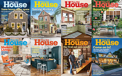 This Old House - 2018 Full Year Issues [Digital-Pdf]