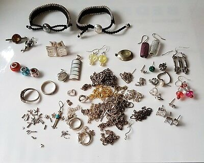 Sterling Silver SCRAP Jewellery Job Lot Bundle 182.9g