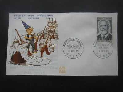 FRANCE-FDC Paul Dukas 13-02-1965 Paris