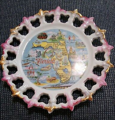 Florida Collectible Souvenir Plate