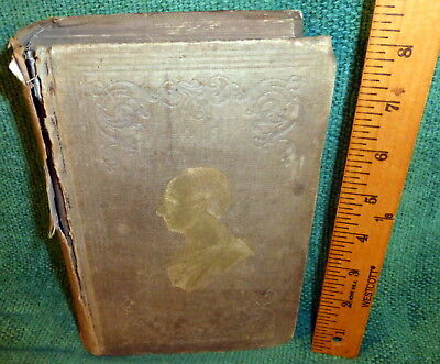 1857 Book- Monument To The Memory Of Henry Clay - Life, Eulogies, Etc