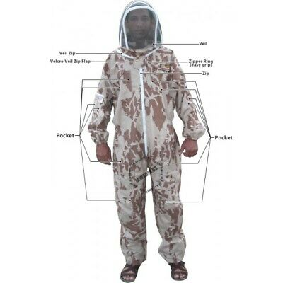 Adult Small Camouflage Lightweight Bee Suits Cheap BeeKeepers Beekeeping Suit