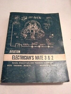 NAVY TRAINING Course 10348-D MANUAL AVIATION ELECTRICIAN'S MATE 3 & 2