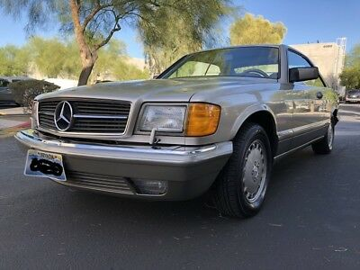 1991 Mercedes-Benz 500-Series  1991 Mercedes Benz 560SEC. Buy it and drive it home for Christmas
