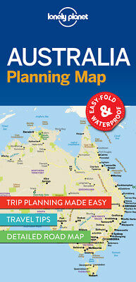 Lonely Planet Australia Planning Map, ,