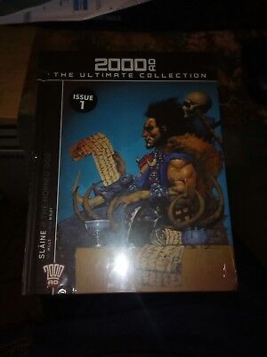 2000AD The Ultimate Collection - Issue 1 - Slane The Horned God