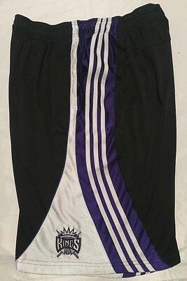 wholesale dealer 52469 b8f62 Nba Adidas Sacramento Kings Team Pro-Cut 2011 Shorts Men 2Xl