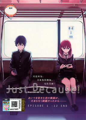 Just Because! DVD 1-12 End - (Japanese Ver) Anime - US Seller Ship FAST