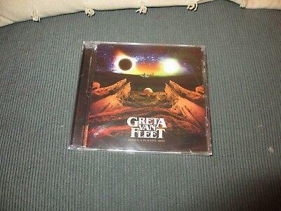 "Greta Van Fleet ""Anthem of the Peaceful Army"" CD 2018 - NEW - SEALED"