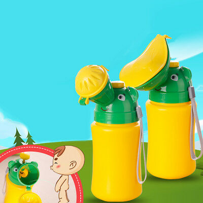 Cute Baby Children Girl Boy Portable Urinal Travel Car Toilet Kids Potty Useful