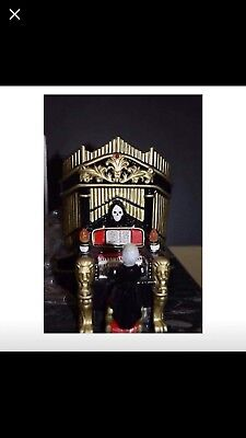 Dept 56 Phantom of the Organ 2003 Snow Village Halloween #53126 Music & Light