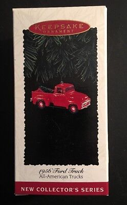 Hallmark Ornament: 1956 FORD TRUCK - All-American Trucks #1 - Dated 1995