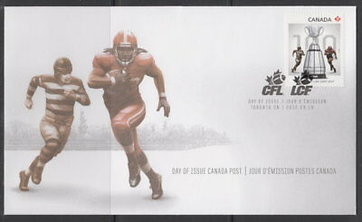 Canada #2568 The 100Th Grey Cup Game First Day Cover