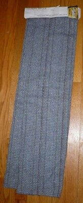 VTG Blue / Gray Tweed Wool Skirt Length 7/8 yd. Woven by LLangollen Weavers