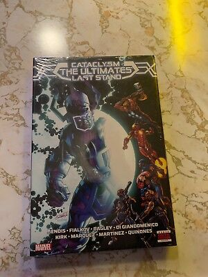 Cataclysm: The Ultimates Last Stand Marvel Deluxe Edition hardcover Galactus HC