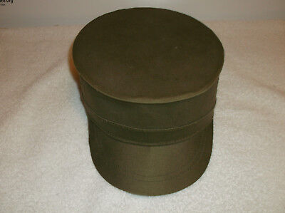 Vintage Falcon Jump Up U.S. Military Korean War Cap Hat Size 7 1/2 Fitted