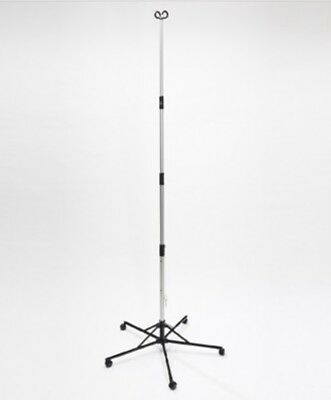 SHARPS PITCH-IT SR. PORTABLE IV POLE WITH WHEELS MODEL #30006 Factory sealed!