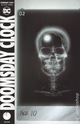 Doomsday Clock (DC) #5A 2018 Frank Variant FN Stock Image
