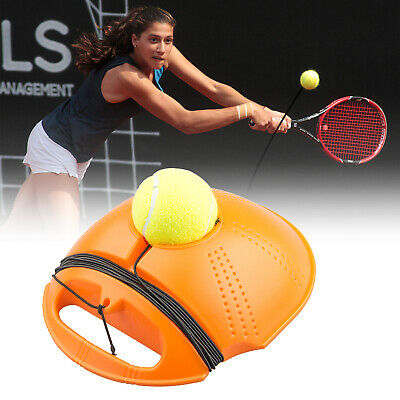 Tennis Trainer Baseboard Sparring Device Tennis Training Tool with Tennis Ball