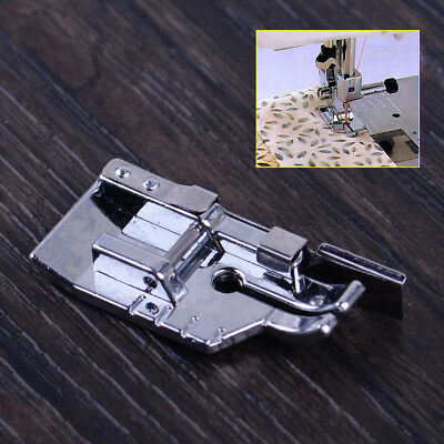 """1/4"""" Patchwork Quilting Presser Foot Feet Edge Guide Snap-On Sewing Machine Part"""