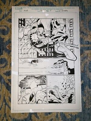 The Amazing Spider-Man #3 page 7 Original Comic Art by Ryan Ottley Invincible