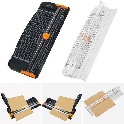 Labels Paper Trimmer Ruler Portable Cutter Coupon A4 Precision Guillotine
