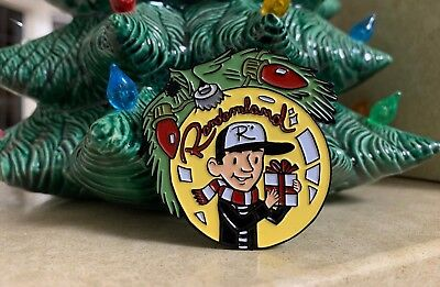 RANDOMLAND Christmas Pin! Holiday Enamel Pin!!