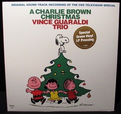 Vince Guaraldi Trio - Charlie Brown Christmas (GREEN vinyl LP) NEW