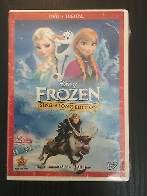 Frozen (DVD, 2014, Sing-Along Edition Includes Digital Copy) Brand New Sealed