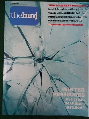 Bmj British Medical Journal 18 November 2017 Are Winter Crisis Headlines Fair