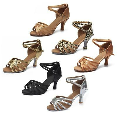 7CM High Heel Women Girl Lady's Ballroom Tango Latin Dance Dancing Shoes Salsa