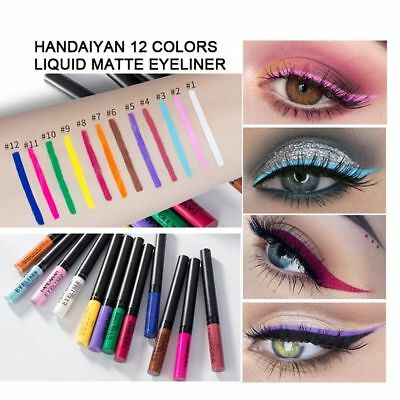 Women Beauty Waterproof Eyeliner Liquid Eye Liner Pen Pencil Makeup Cosmetic
