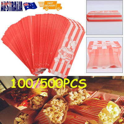 500Popcorn Bags Carnival King Fetes Events Cinema Suit all popcorn machines bags