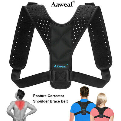 Body Wellness Posture Corrector Back Straight Shoulders Brace Strap Correct
