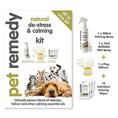 Pet Remedy Natural De-stress & Calming Kit