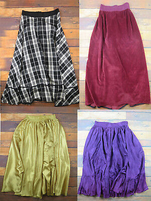 Vintage Job Lot Of 4 Victorian Skirts - Christmas Markets - Panto - Theatrical