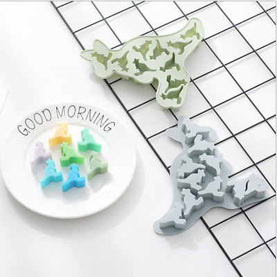 Kangaroo Cake Jelly Cookies Mold Chocolate Baking Soap Mould Candy Ice Cube Tray