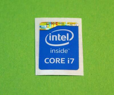 10X Intel Core i7 inside Sticker 21mmx16
