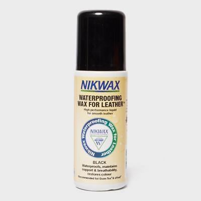 Nikwax Waterproofing Wax For Leather 125ml Black Assorted One Size