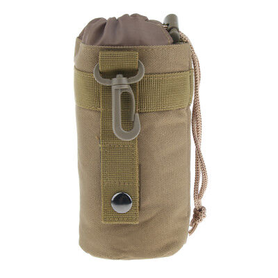 Outdoor Camping Hiking Travel Sports Water Bottle Bag Kettle Glass Pouch