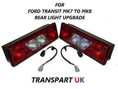 Pair Transit Mk6 Mk7 Tipper Pickup Truck Recovery Luton Rear Tail Light Lamp