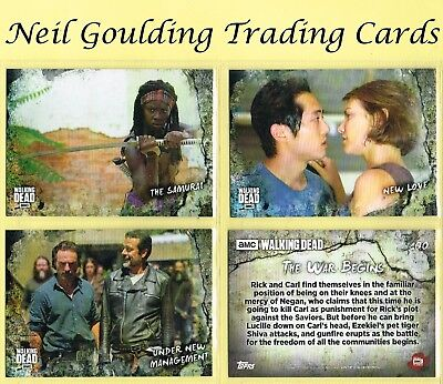The Walking Dead - ROAD TO ALEXANDRIA ☆ Base Cards ☆ Trading Cards #1 to #100