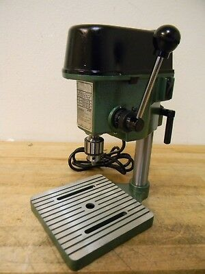 """Enco 1/4"""" Miniature Bench Top Drill Press 4-5/16"""" Swing JT1 Spindle Taper 115V"""