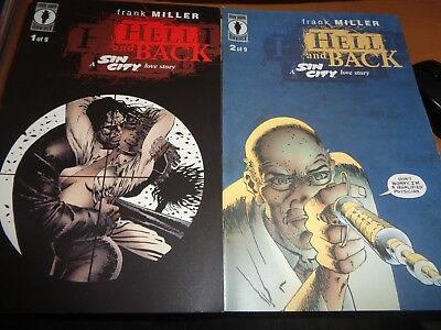 Dark Horse: Sin City: Hell and Back 1-9 Set 1999