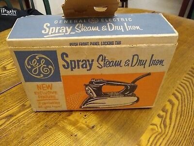 Vintage/Antique GE Spray Steam and Dry Iron