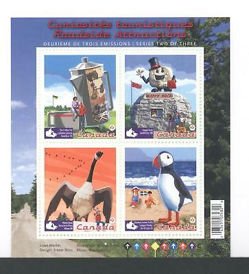 Canada Souvenir Sheet Ss2397 Roadside Attractions - 2