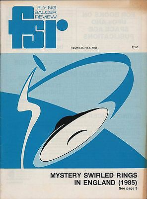 UFO. Flying Saucer Review. 1985. Swirled Rings, Early Crop Circles England zn25