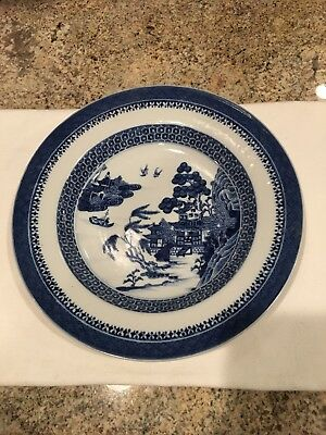 Late 18th Century Antique Chinese Porcelain Blue And White Bowl Nanking
