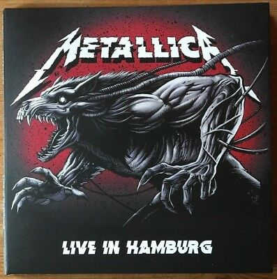 "Metallica : ""Live In Hamburg 2018"" Rare Edtion 2Cd's Digipack Neuve !"