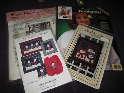 Lot Of Four Christmas Crafts